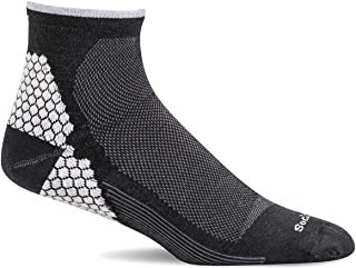 Sockwell Men's Plantar Sport Quarter Sock