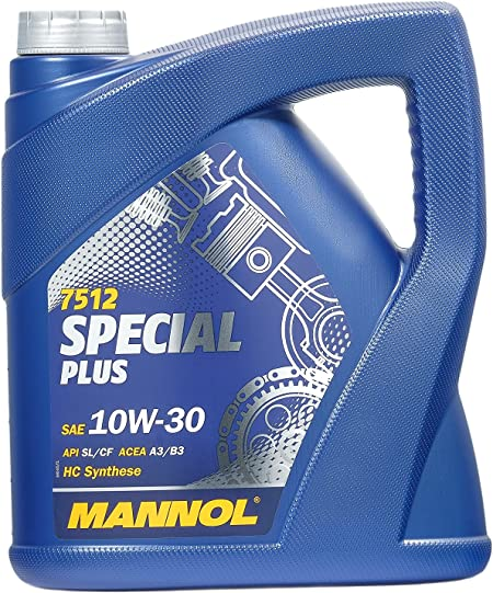 Mannol 7512 Special Plus 10w 30 Api Sl Cf Motorenöl 4 Liter Auto