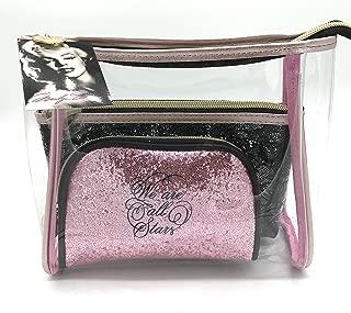 Marilyn Monroe Travel Cosmetic Bag Set