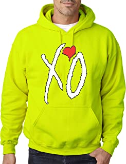 New Way 189 - Hoodie XO The Weeknd Unisex Pullover Sweatshirt XL Safety Green