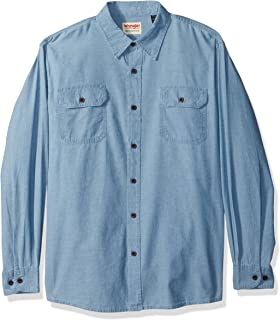 Authentics Men's Long Sleeve Classic Woven Shirt