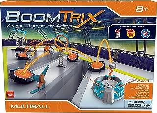 Goliath Boomtrix Multiball Kinetic Metal Ball Chain Reaction Stunt Kit - Fun - Educational - STEM