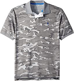 Camo Print Polo Shirt (Big Kids)