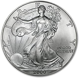 2000 American Silver Eagle $1 US Mint Brilliant Uncirculated