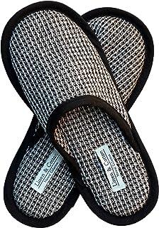 Linen & Cotton Chaussons de Bain de Luxe Hommes/Femmes TIGO