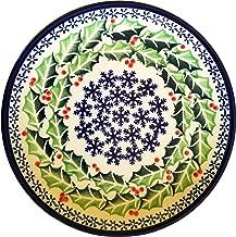 Polish Pottery Christmas Dessert or Breakfast Plate