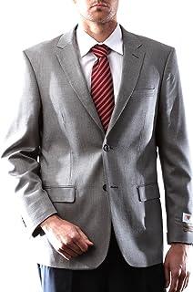 Prontomoda Europa, Men's Silk Wool Cashmere Gray Sport Coat