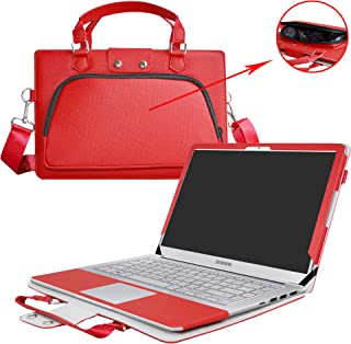 Notebook 9 Pro 13 Case,2 in 1 Accurately Designed Protective PU Cover + Portable Carrying Bag For 13.3