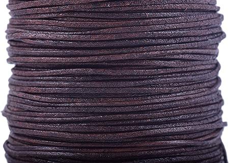 Wine silk cord 1mm hand twisted \u2013 1 yard1 metre