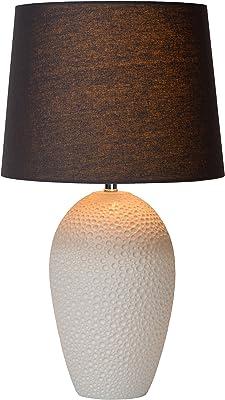 Lucide SALLY - Lampe De Table - Ø 33 cm - Créme
