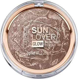 Catrice | Sun Lover Glow Bronzing Powder - Silky Soft Baked Bronzing Powder | Vegan | 010 Sun-Kissed Bronze