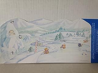 Hallmark Merry Miniature Artic Scene Backdrop Display