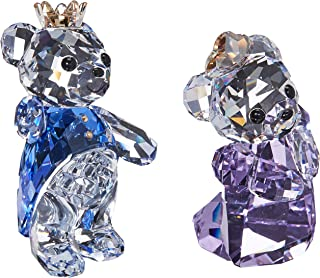 Swarovski Crystal Kris Bear- Prince & Princess Figurine New 2018