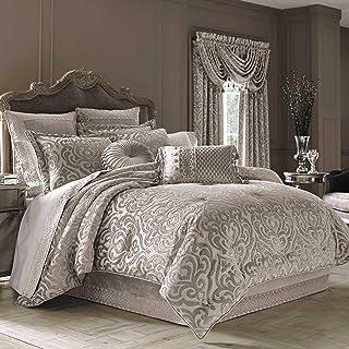 """J. Queen New York """"Sicily"""" Comforter Set in Pearl, King"""