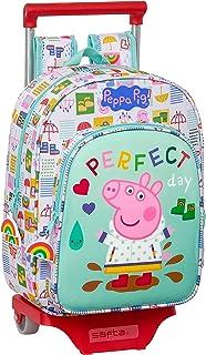 Mochila Infantil de Peppa Pig con Carro 705, 260x110x340mm, multicolor