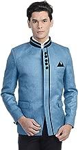 WINTAGE Men's Rayon Bandhgala Party Nehru Mandarin Blazer - 11 Colors
