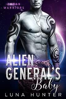 Alien General's Baby (Scifi Alien Romance) (Zoran Warriors Book 1)