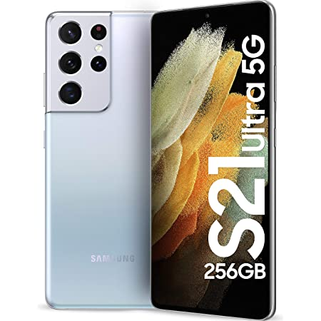 Samsung Galaxy S21 Ultra 5G (Phantom Silver, 12GB, 256GB Storage) + Galaxy Buds Pro @990