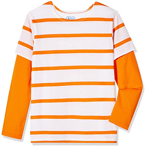 97c425cea0c111 A for Awesome Boys Long Sleeve 2fer Striped Tee