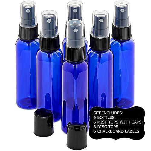 05f0436bcd45 PET Plastic Bottles for Essential Oils: Amazon.com
