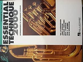 Essential Techinque 2000: Baritone B.C. Book 3 (Essential Techinque 2000: Baritone B.C. Book 3 Intermediate and Advanced Studies)