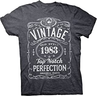 36th Birthday Gift T-Shirt - Vintage 1983 Top Notch Perfection