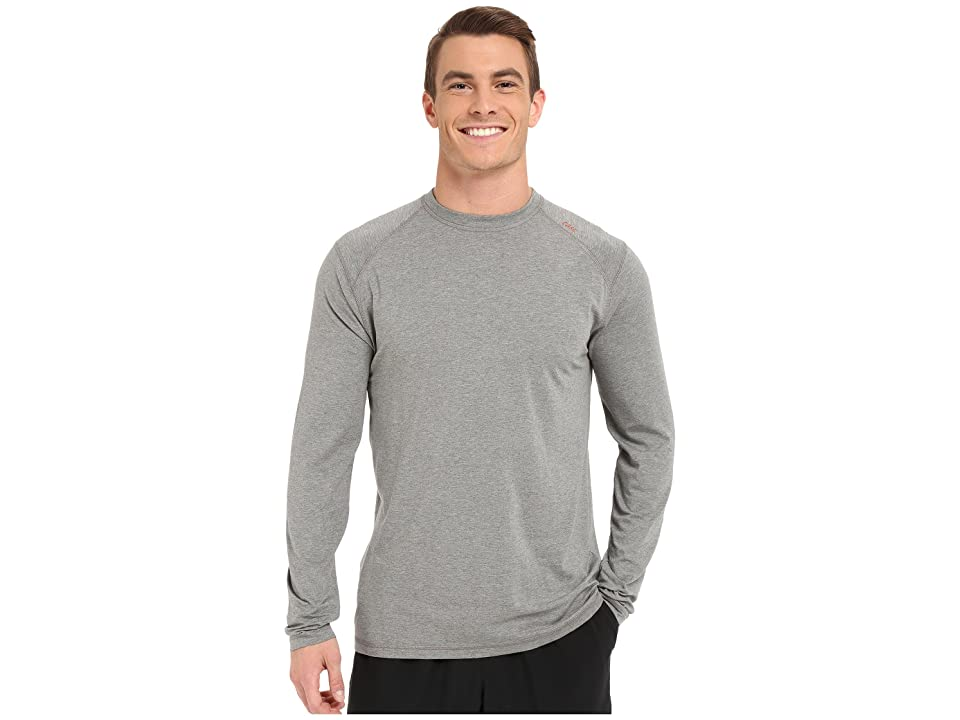 tasc Performance Carrollton Long Sleeve Shirt (Heather Gray) Men