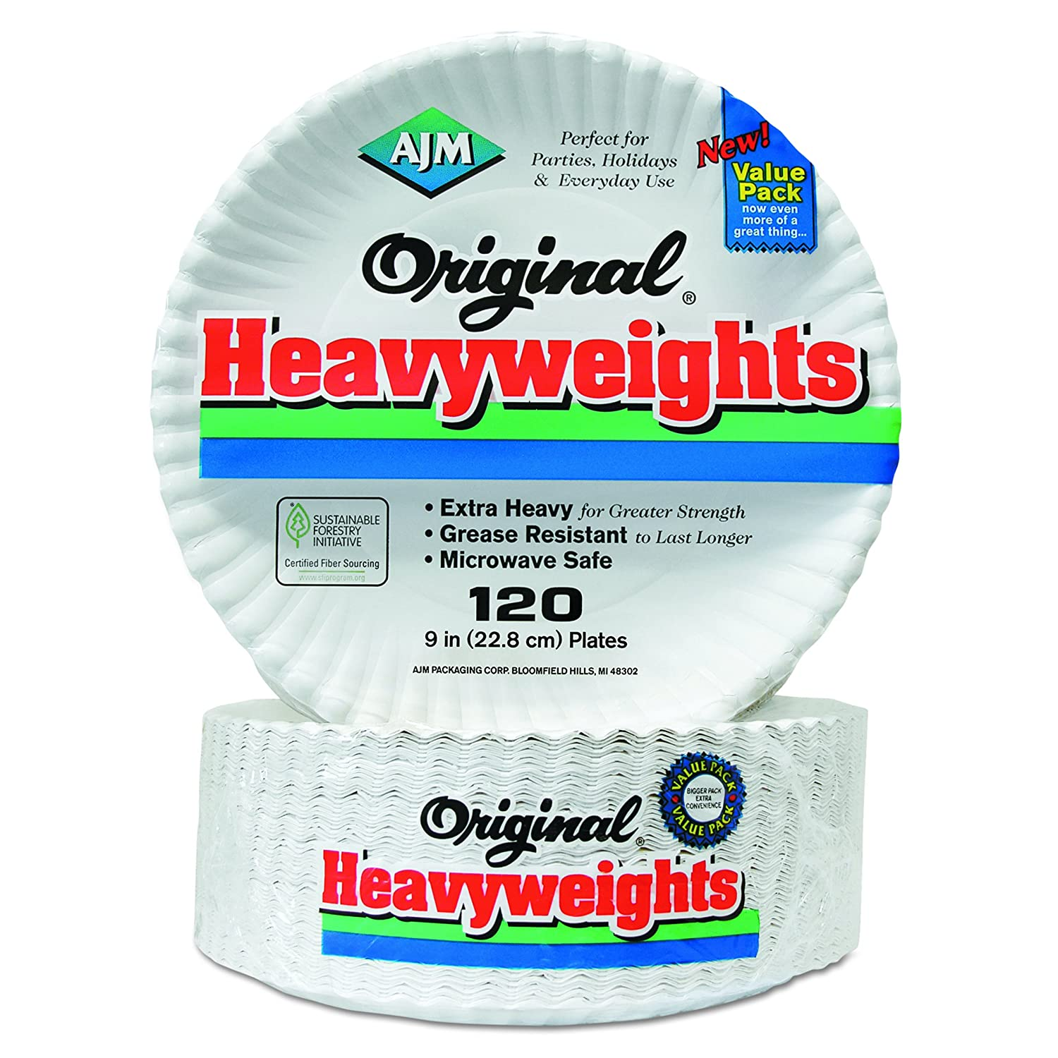 AJM Fixed price for sale Plates 960 depot CT White Heavyweight 9