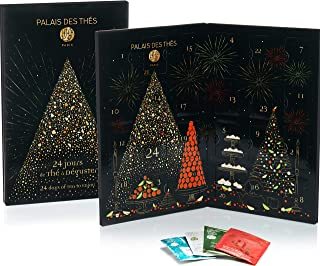 Palais des Thés Chrismas Advent Calendar, 24 Days of Tea to Enjoy, 24 Tea Bags