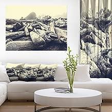 """فن فن فن فن فن فن فن المساء للبحر بعد عاصفة ثقيلة طباعة فنية للشاطئ, 40x30"""""""