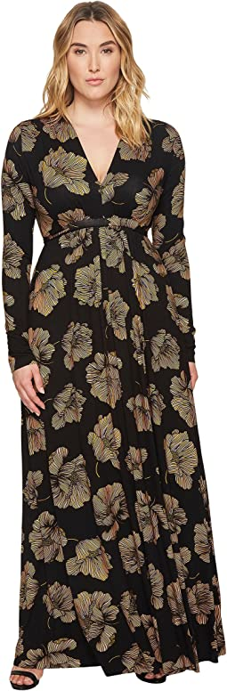 Rachel Pally - Plus Size Long Sleeve Full Length Caftan