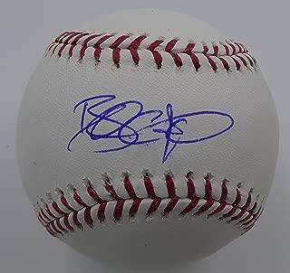 brandon crawford autographed baseball