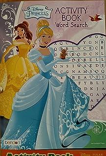 Disney Princess Word Search Puzzle Book / DPWS