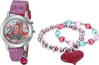 JoJo Siwa Girls' Quartz Watch with Rubber Strap, Multicolor, 13 (Model: JOJ40050AZ)