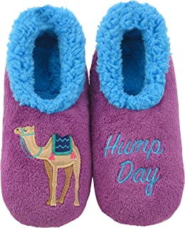 Pairables Womens Slippers - House Slippers - Hump Day