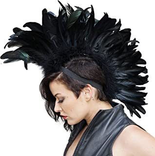 feather mohawk headpiece