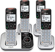 $73 » VTech VS112-4 DECT 6.0 Bluetooth 4 Handset Cordless Phone for Home with Answering Machine, Call Blocking, Caller ID, Inter...