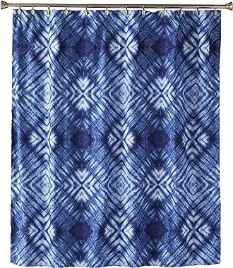 SKL Home by Saturday Knight Ltd. Zarrie Fabric Shower Curtain, Blue