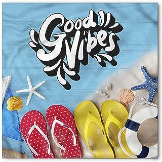 Chill Bandana, Flip Flops Summer, Unisex Head and Neck Tie