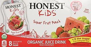 Honest Kids, Organic Super Fruit Punch, 6.75 Fl Oz (pack of 8)