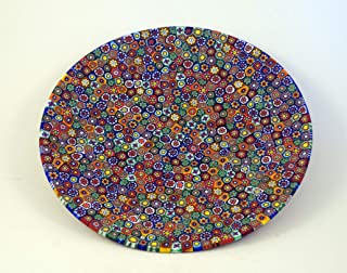 Murano Millefiori Gorgeous Plate Art Glass of Venice