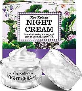 StBotanica Pure Radiance Night Cream - Intensive Firming, Anti-Aging & Skin Brightening, 50gm (With Vitamin C, Retinol, Hyaluronic acid, Collagen)