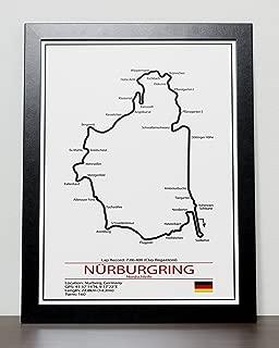 nurburgring track poster