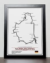 Nurburgring Grand Prix Track Poster - Formula One