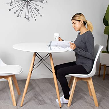 Milliard Dining Table – Small, Round, Dining Room Table - for 2 to 4 People