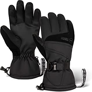 Ski & Snow Gloves – Waterproof & Windproof Winter Snowboard Gloves for Men..