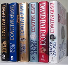 David Baldacci (Set of 6) Split Second; Hour Game; Simple Genius; 1st Family; 6th Man; King & Maxwell