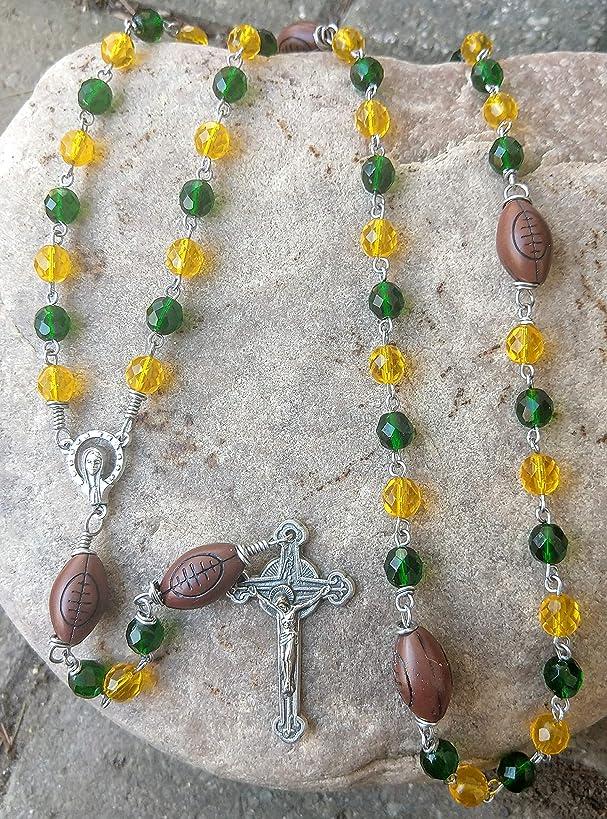 Packers Football Rosary~FREE SHIPPING!