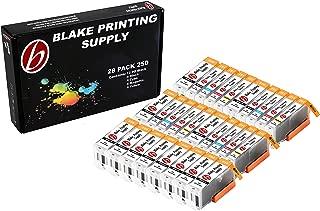 28 Pack Blake Printing Supply CLI-251XL 251 XL PGI-250XL 250 XL Ink Cartridges for Canon PIXMA iP7220 iX6820 MG5420 MG5422 MG5520 MG5522 MG5620 MG5622 MG6420 MG6620 MX722 MX922