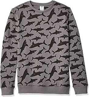 Amazon Essentials Boys' Big Crew Neck Sweatshirt